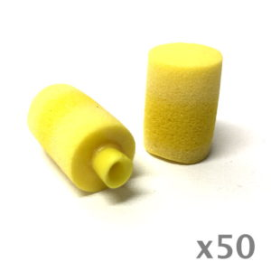 yellow comtip earplug