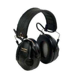 black tactical sport headset