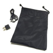 black active noise cancelling headset carrying case