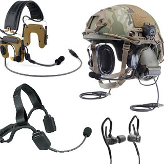 tactical and military headsets
