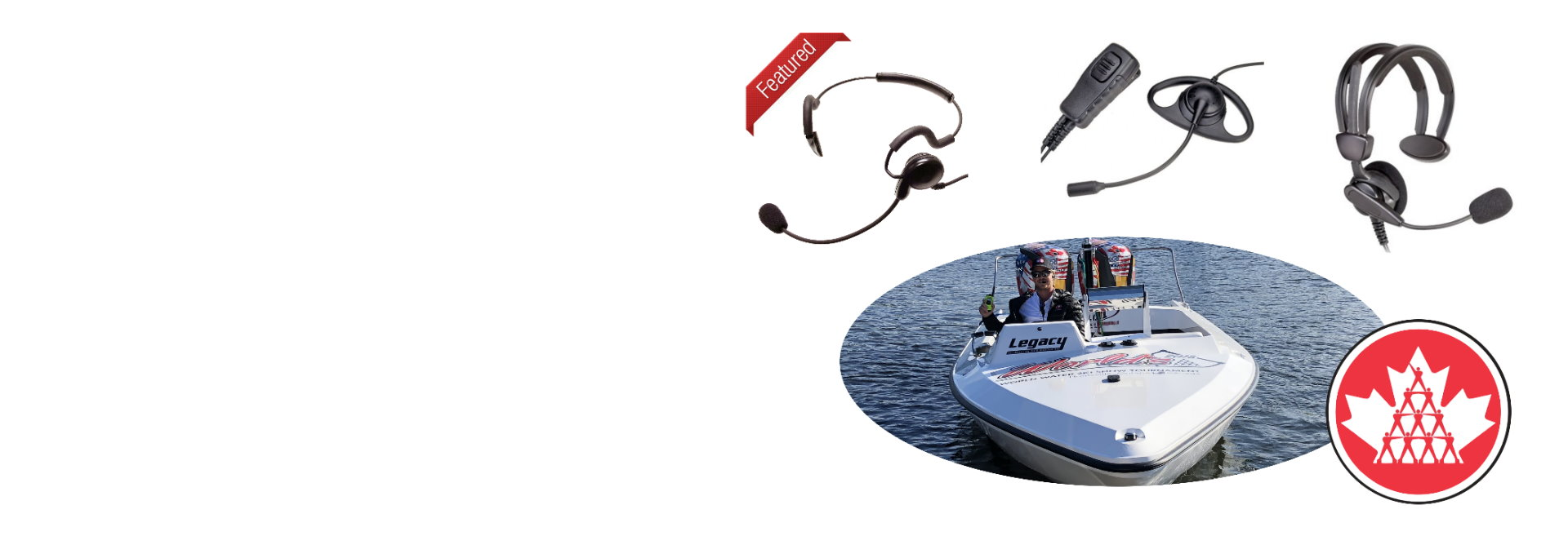 CanCom Lightweight headsets… lightweight yes but proven tough and reliable!!